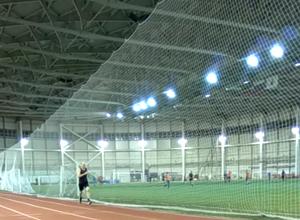 Легкоатлетический манеж в Казани школа бега