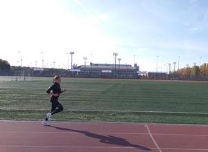 Стадион для беговых тренировок школы бега