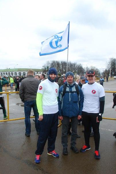 Дмитрий Максимов с воспитанниками